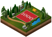 1,000 kvadratfod